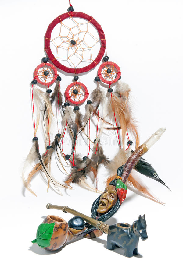 Download Peace Rod And The Dream Catcher Stock Image - Image of catcher, magical: 17018761
