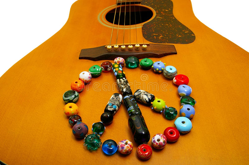 Download Peace sign stock image. Image of beads, sign, wooden - 18895377