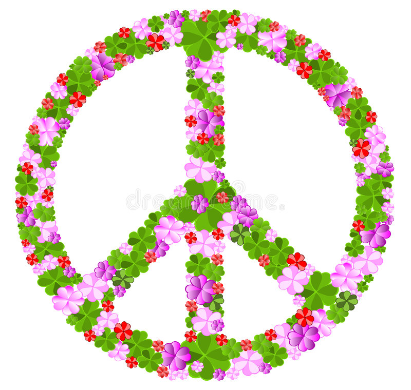 Free Peace Sign Royalty Free Stock Images - 8273579