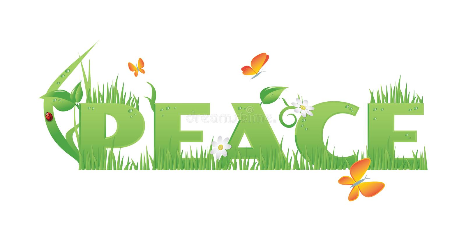Download Peace stock vector. Image of education, illustration - 31930678