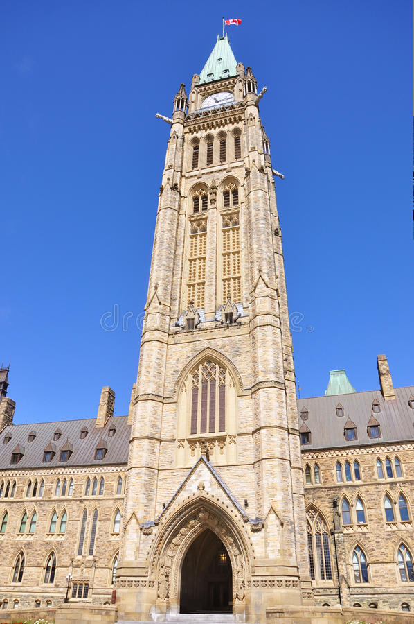 Download Peace Tower Of Parliament Buildings, Ottawa Stock Photography - Image: 20897852