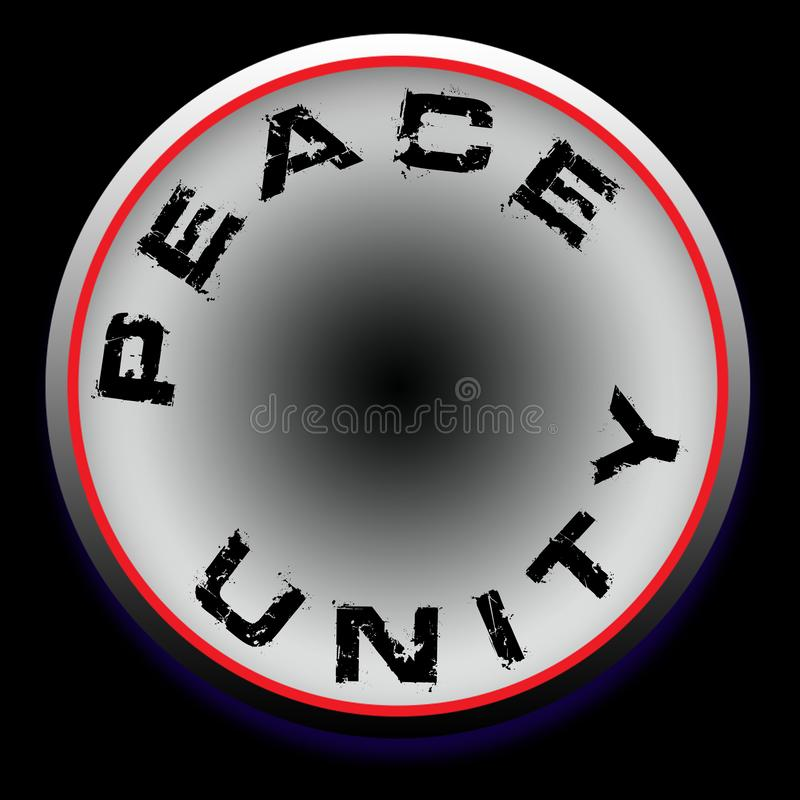 Peace unity logo design background wallpaper. Peace unity logo design background royalty free illustration