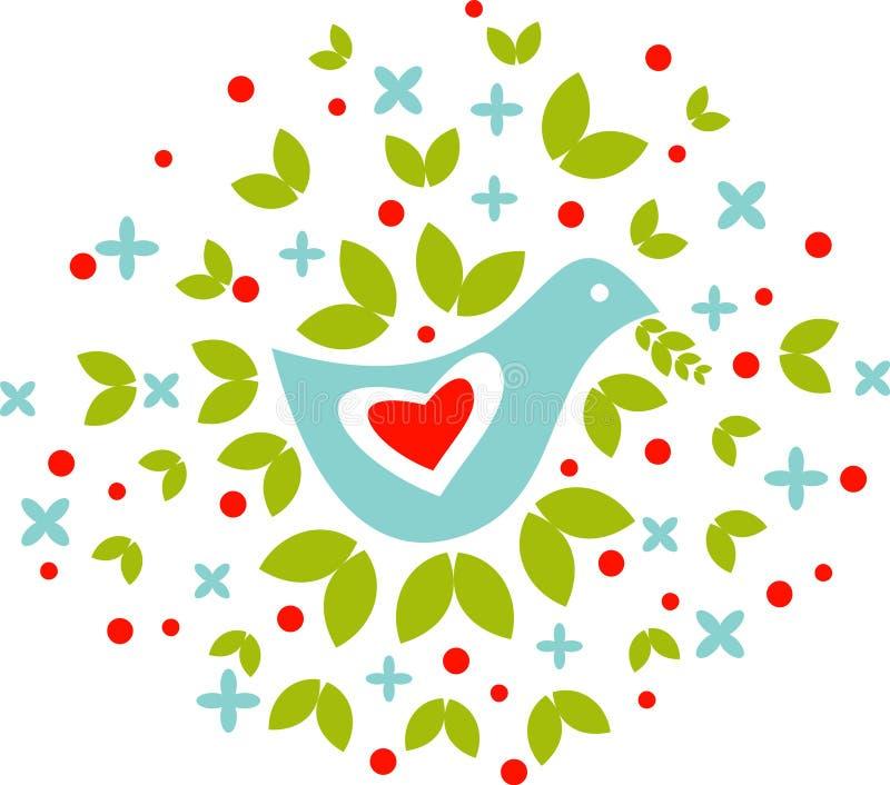 peacebird иллюстрация штока