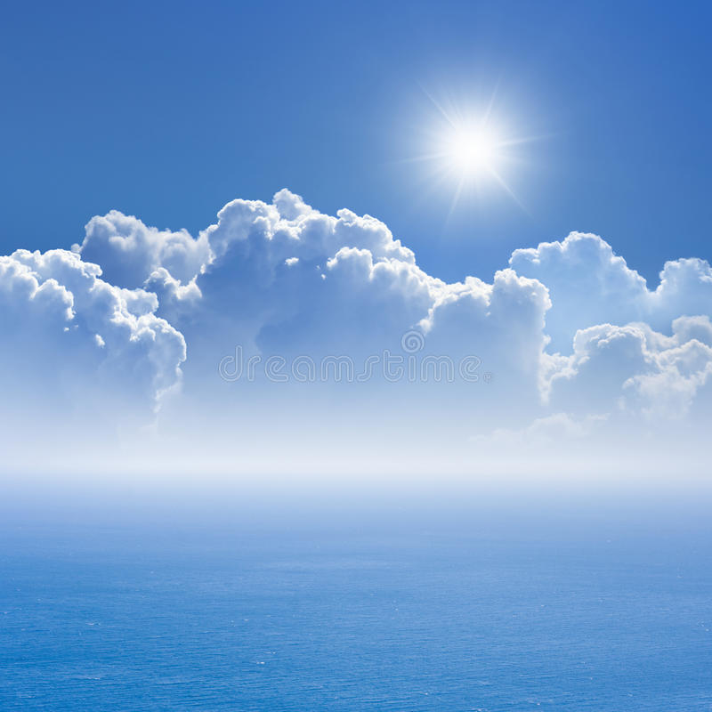 Peaceful background stock photo image of cloud ocean - Peaceful background images ...