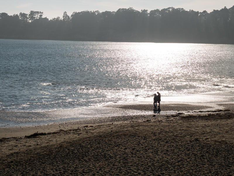 Download Peaceful beach scene stock photo. Image of relaxing, leisure - 34973524