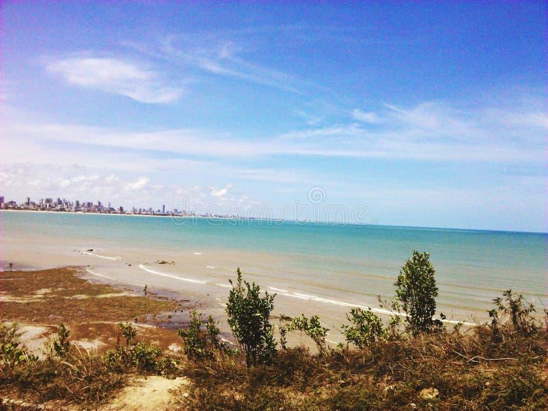Peaceful Beach stock photography