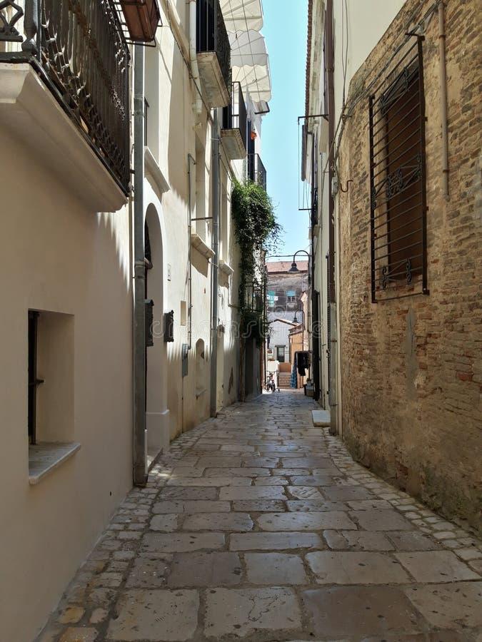 Town of Termoli, in Molise, Italy royalty free stock photo