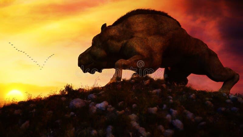 Peaceful Creature vector illustration