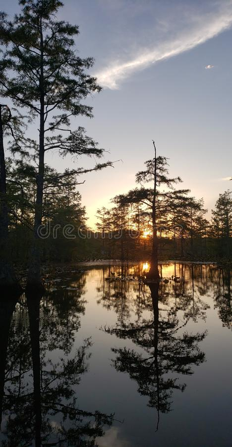 Peaceful days ending royalty free stock photo