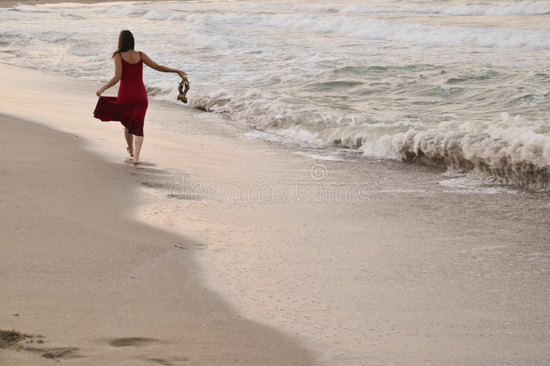 Download Peaceful evening walk stock photo. Image of dress, holiday - 25986166