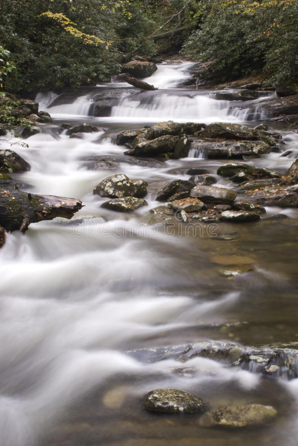 Download Peaceful Flowing Mountain Water Stock Photo - Image of horizontal, fall: 12011962