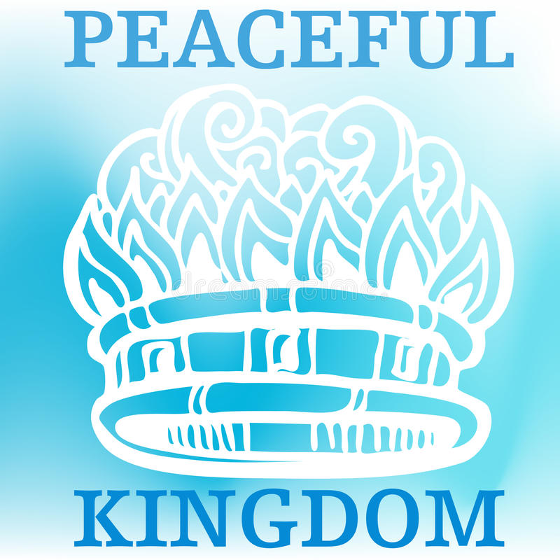 Download Peaceful Kingdom stock vector. Illustration of drawing - 16771955