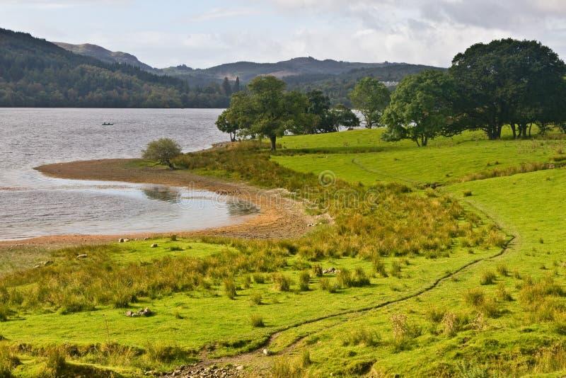 Download Peaceful Lake In Scotland Stock Photo - Image: 3984510