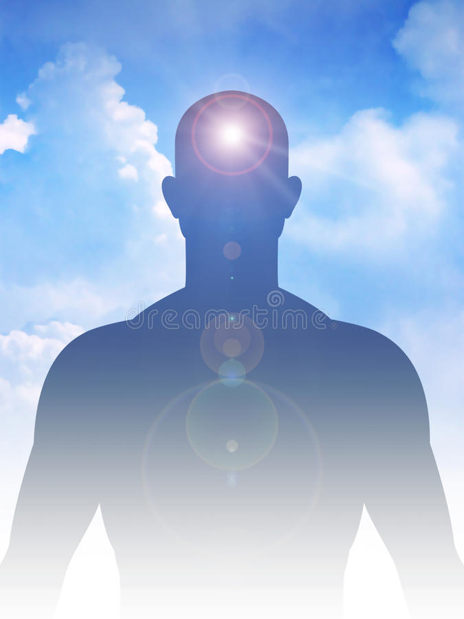 Peaceful Mind And Body royalty free stock images