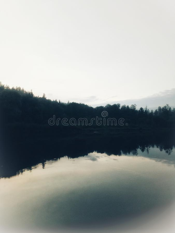Peaceful moments in Nature royalty free stock photo