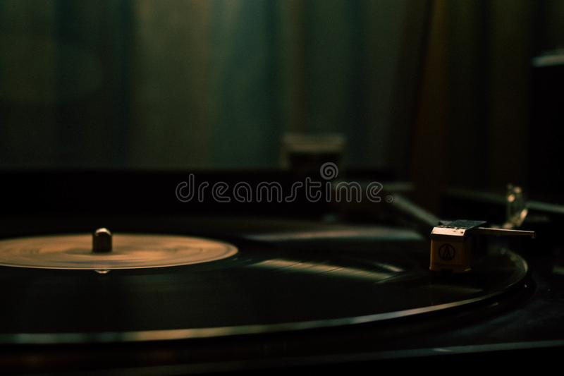 Peaceful music moment royalty free stock photo