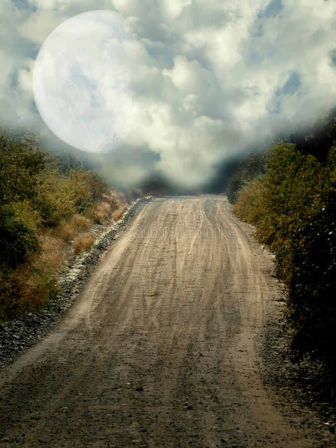 Download Peaceful  path stock photo. Image of bright, dreamy, digital - 17322388