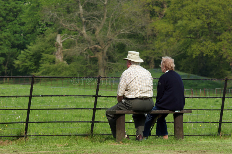Download Peaceful Retirement stock photo. Image of males, affection - 912644