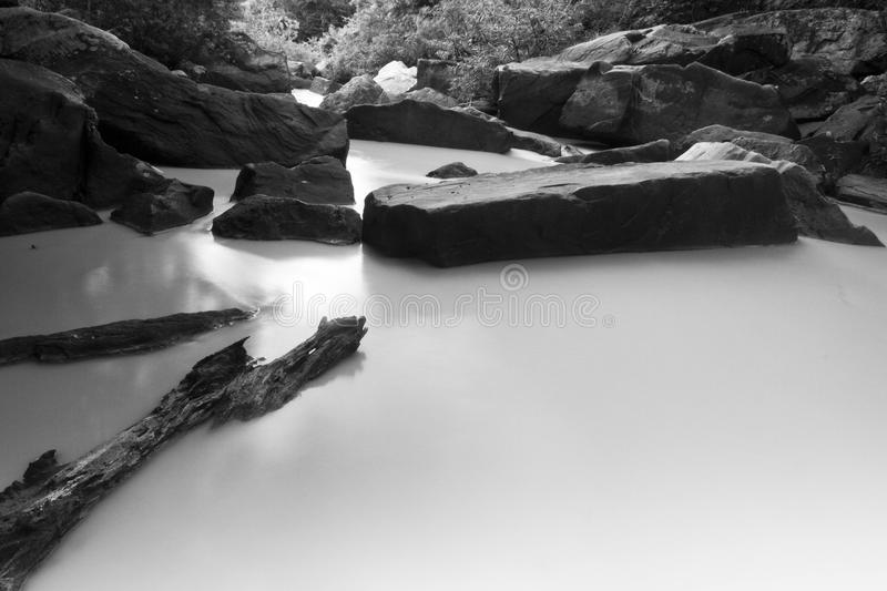 Peaceful river stock photography