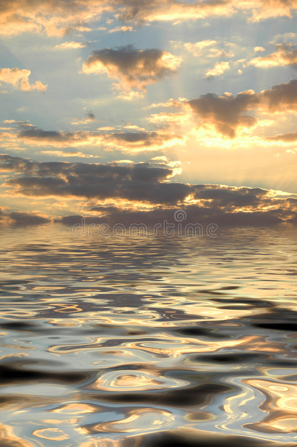 Peaceful sea royalty free stock images