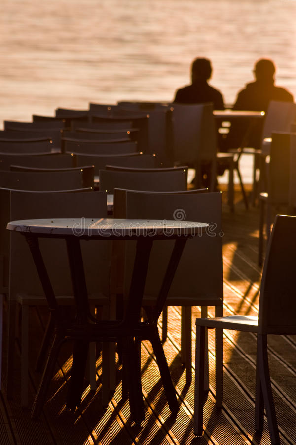 Download Peaceful sunset stock image. Image of chair, bardolino - 22161233