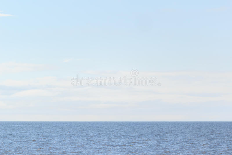 Peaceful waters of the gulf royalty free stock photography