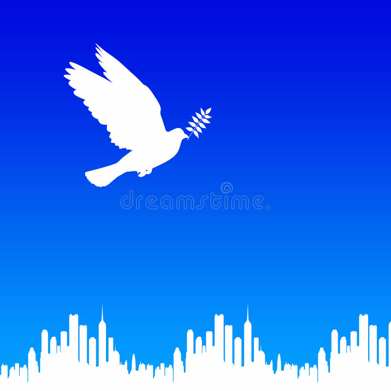 Download Peaceful world stock illustration. Illustration of pure - 20970271