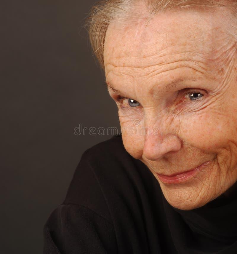 Peacefull Frau lizenzfreies stockbild