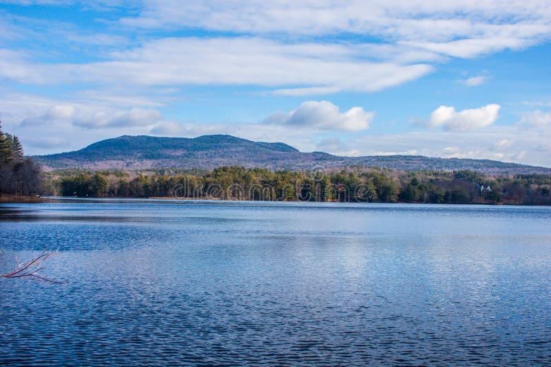 Peacefull-Sommertag in New Hampshire stockfotografie