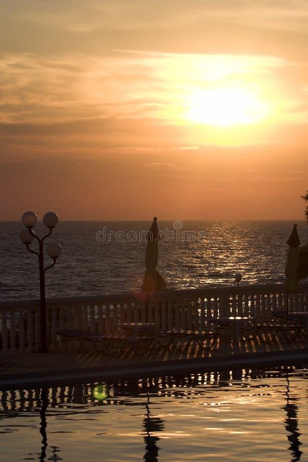 Peacefull Sunrise royalty free stock image