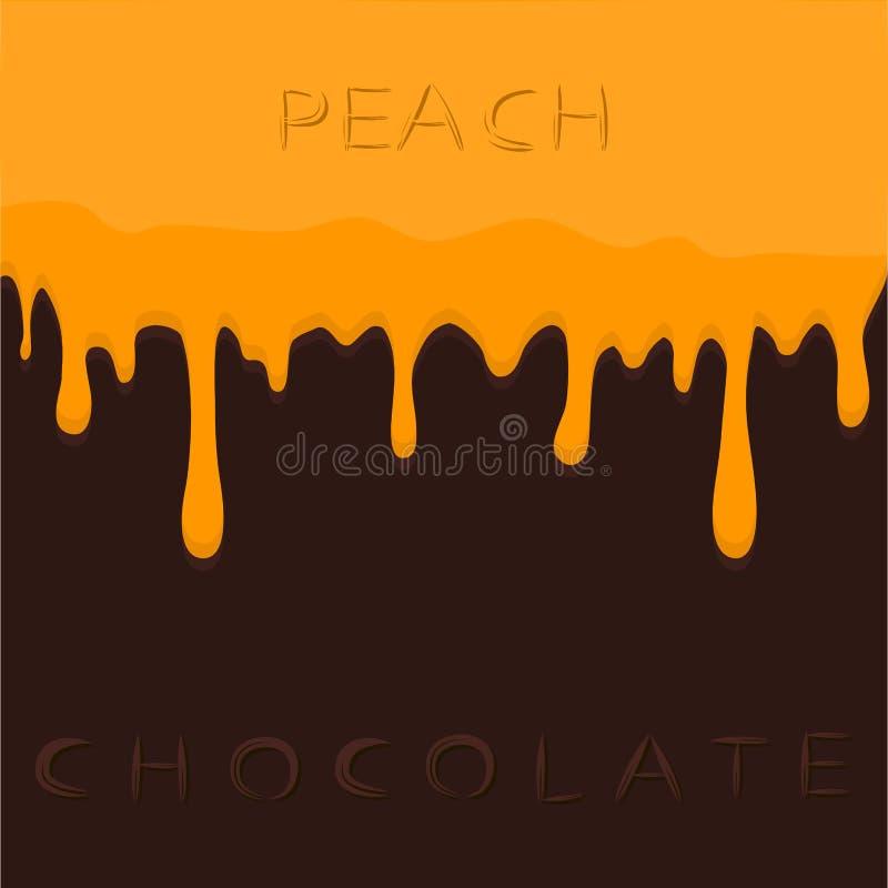 peach ilustracji