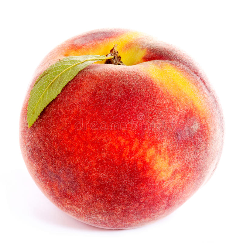 Download Peach stock image. Image of single, close, macro, isolated - 15451523