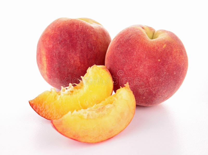 Download Peach stock photo. Image of peaches, fruit, healthy, isolated - 25228966