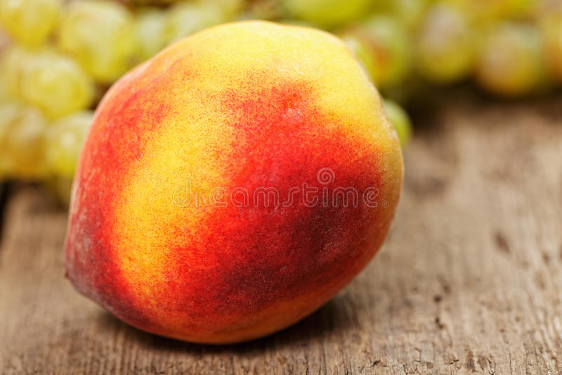 Download Peach stock image. Image of washed, fresh, green, grapes - 26270453