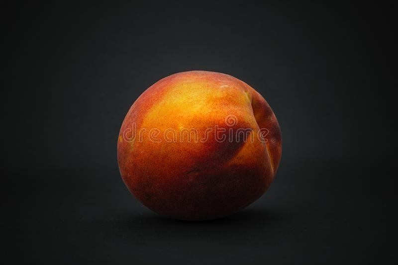 peach on a black background stock image image of orange close 121667851 peach on a black background stock image