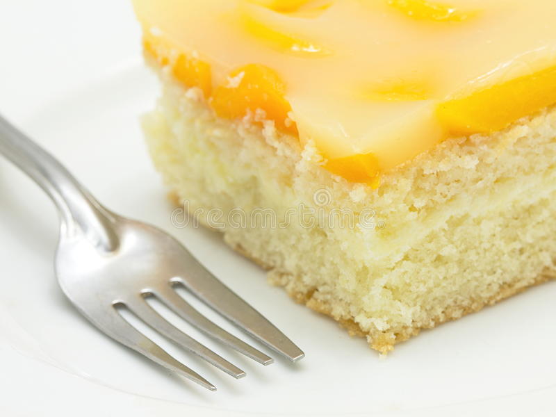 Download Peach cake stock photo. Image of delicious, sensitive - 28944128