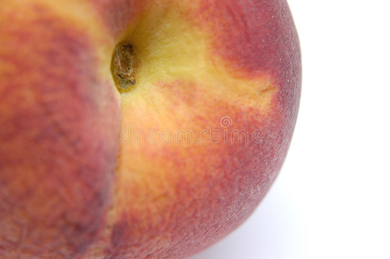 Peach close-up royalty free stock images