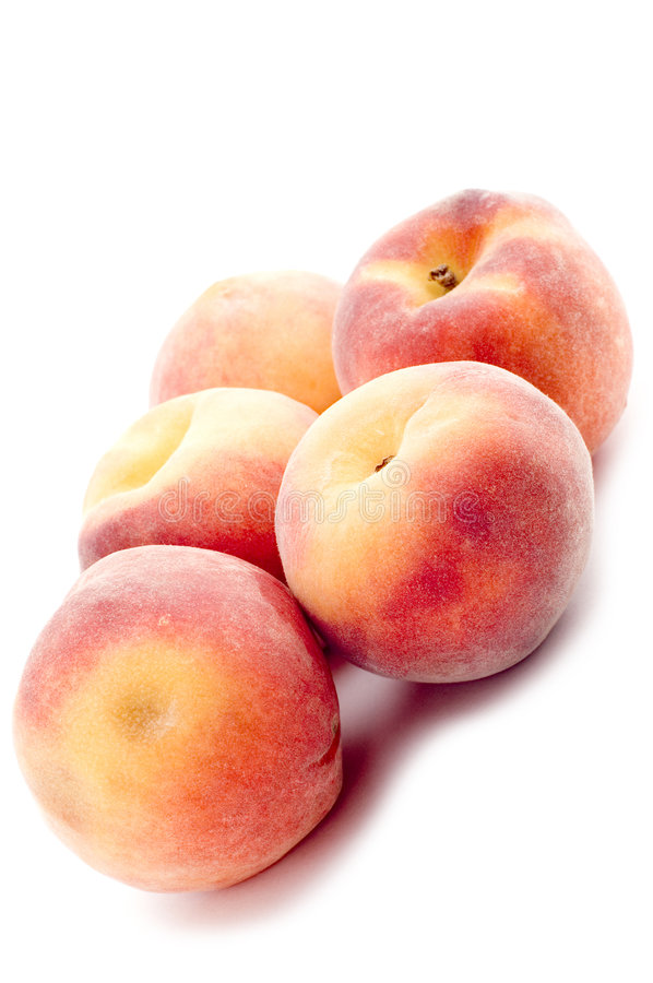 Peach Closeup Royalty Free Stock Photography