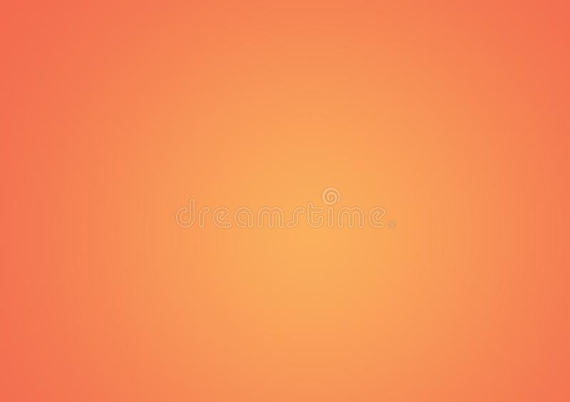 Peach color gradient wallpaper design background. For use with text and image layout or for device vector illustration