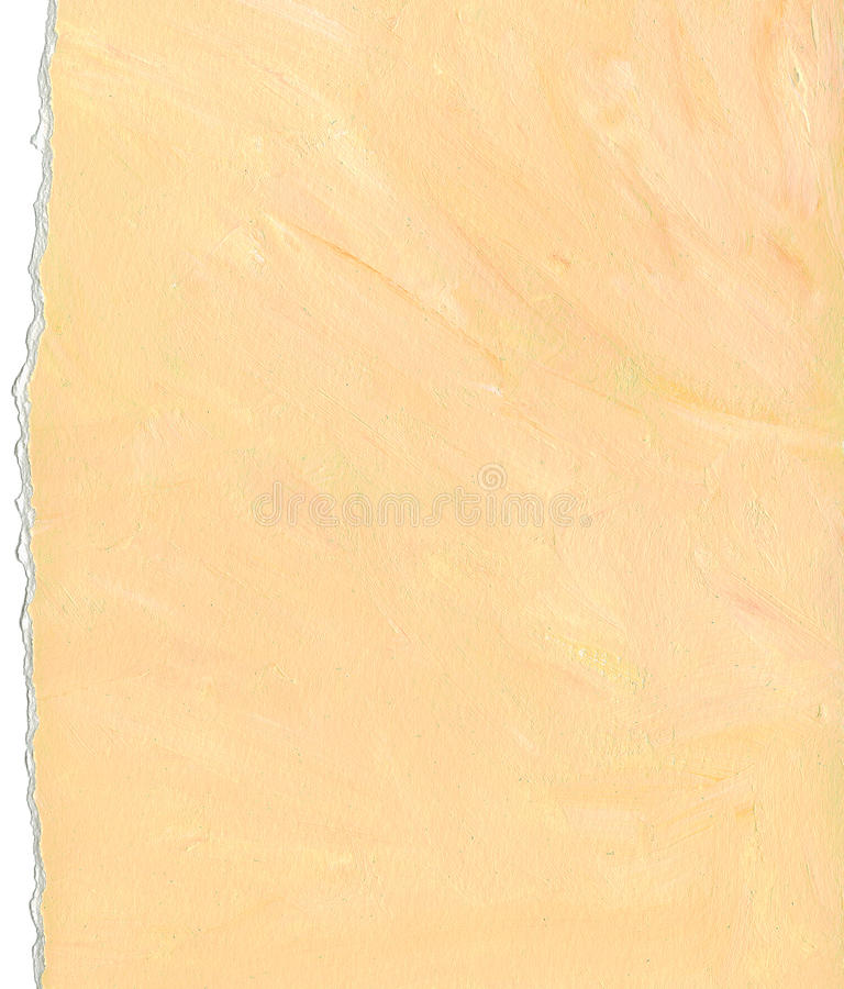 Download Peach Color Paper Background With Torn Edges Royalty Free Stock Photos - Image: 12625908