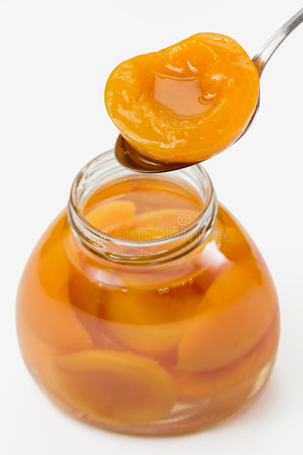 Free Peach Compote Stock Photos - 28733703