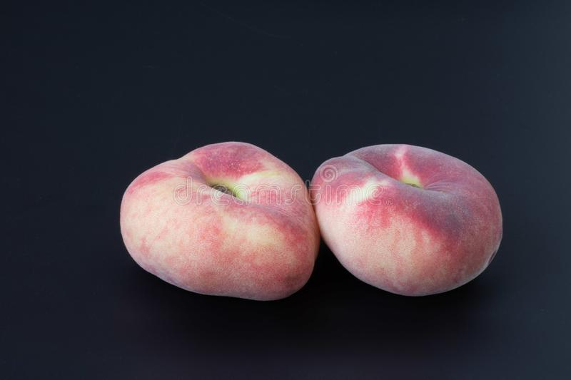 Peach figs stock photo