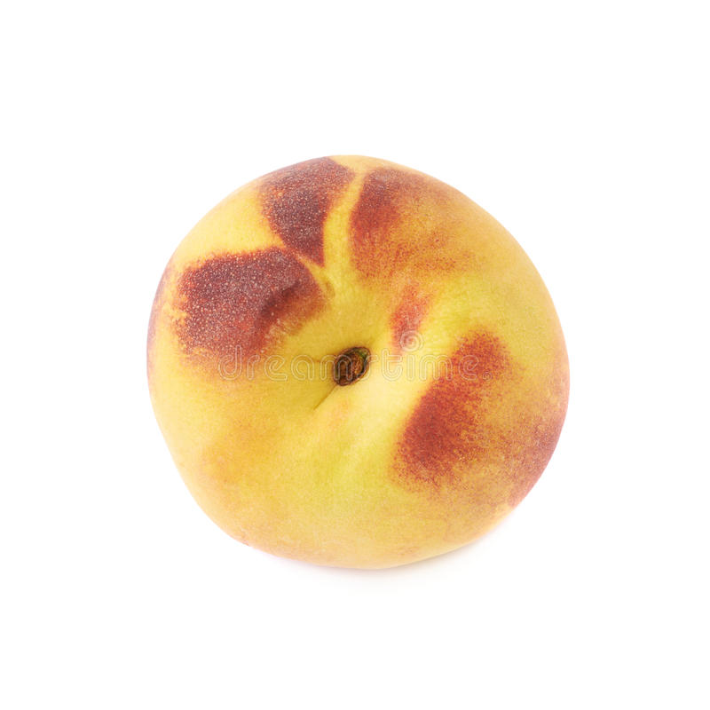 Peach fruit isolated royalty free stock images