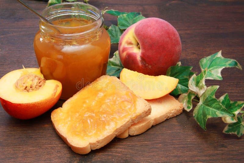 Download Peach jam stock image. Image of close, juice, food, fruit - 14858731