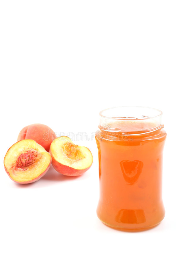 Peach Jam Royalty Free Stock Photos