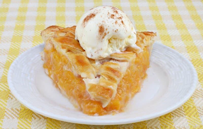 Peach Pie Ala Mode Front View