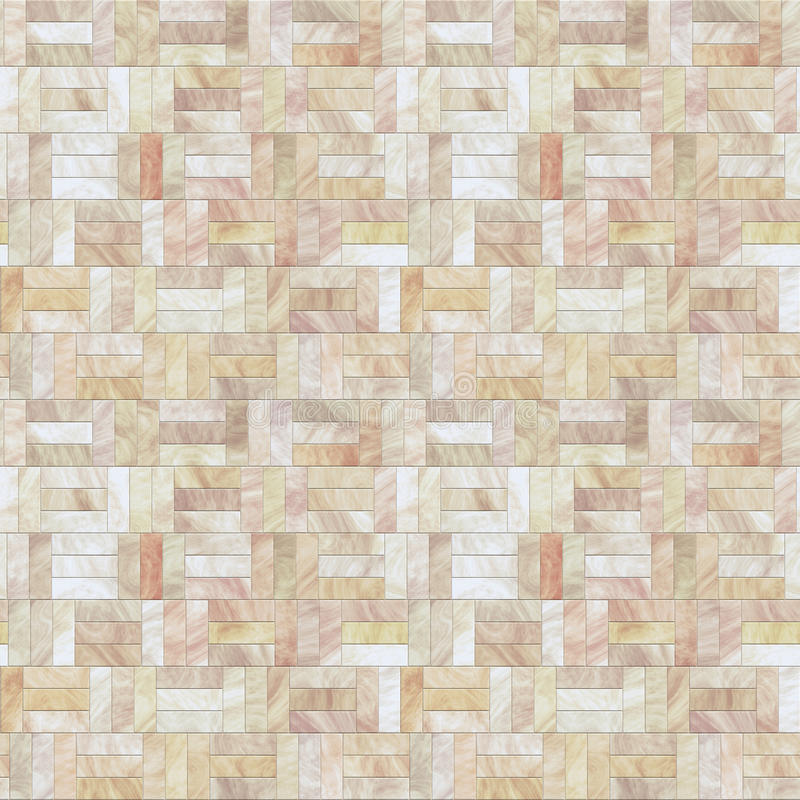 Peach Stone Floor Seamless Pattern Stock Images