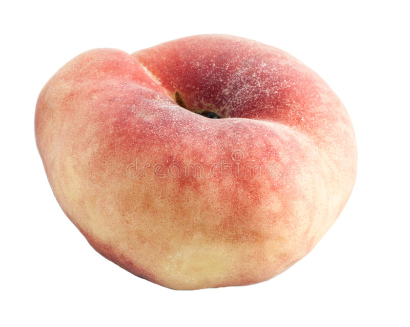 Download Peach With An Unusual Shape. Stock Photo - Image: 25611984