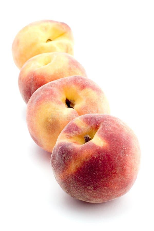 Peach On White Royalty Free Stock Image