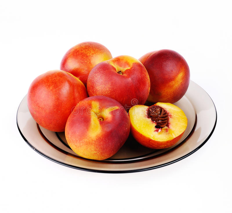Download Peaches stock image. Image of object, portion, peach - 26387155